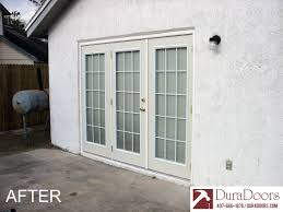 french doors with triple glazed doorglass duradoors