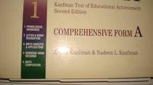 ktea ii kaufman test of educational achievement comprehensive