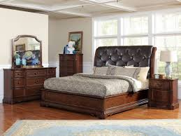 Black Tufted Headboard King Black Queen Size Bed Button With Tall - Tufted headboard bedroom sets