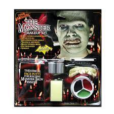 Monster Faces For Halloween The Monster Halloween Makeup Kit U2013 Silverrainstudio Com