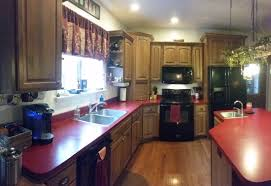 Kitchen Cabinets Solid Wood Construction K Hickory Red Country Kitchen Ndl Construction Llc