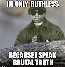Truth Bear Meme - confession eazy e imgflip