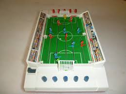 electronic table football game museum of plastic tomy super cup football branch of science