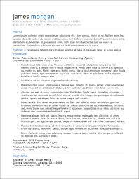 Sample Resume Templates Free by Sample Resume Free Download In Word Format Resume Templates Mdbudz
