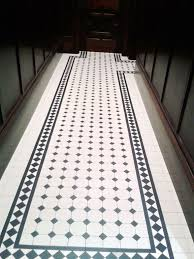 tile border floor tiles black white 12 cm