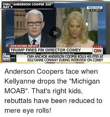 Anderson Cooper Meme - cnnanderson cooper 360 may 9 white house 847 pm et breaking news