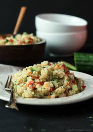light and easy dinner ideas quinoa tabbouleh salad easy healthy recipes using real ingredients