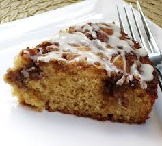 cinnamon roll cake with maple drizzle catsue bless you let u0027s eat