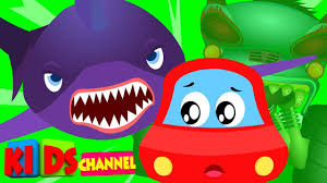 little red car scary flying shark original halloween songs for