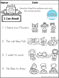 first grade reading coloring worksheets trends coloring first