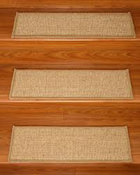 Modern Stair Tread Rugs Interior Modern Stair Treads Carpet On Wooden Stair Combine With