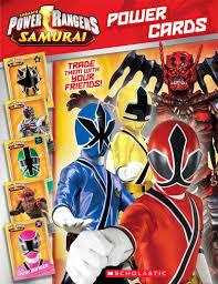 power rangers samurai power cards nicole corse scholastic