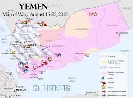 Arabian Peninsula Map Map Of War August 15 23 2015 The Ulterior Negotiations