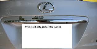 lexus es300 touch up paint 2005 es330 identity of trunk molding piece clublexus lexus