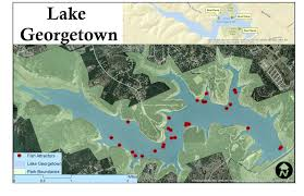 Georgetown Map Gis Su Lake Georgetown