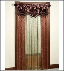 Priscilla Curtains With Attached Valance Lace Curtains Panels With Attached Valance Curtains With Attached