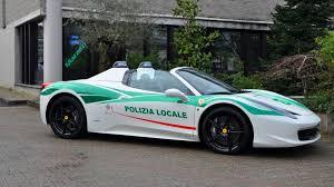 Ferrari 458 Spider - mafia u0027s former ferrari 458 spider now police car in milan