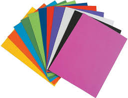Mg Eva Foam Sheet 10 Different Color A4 Size 2mm Thickness Amazon Color Paper