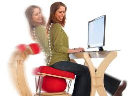 sprang office chair has an exercise ball built in business insider