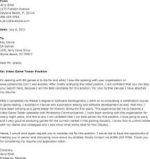qa cover letter cover letter for qa tester experience resumes at home tester