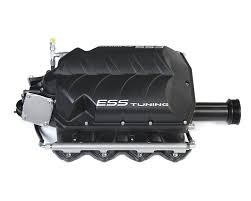 nissan titan gtm supercharger ess tuning m156 twin supercharger system mercedes benz c63