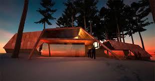 retro futuristic retreat house design sweden dma homes 11853