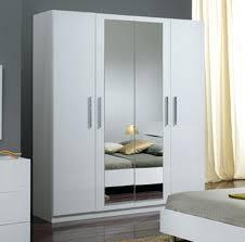 chambre a coucher pas cher but armoire de chambre 4 portes gloria blanc a coucher en aluminium