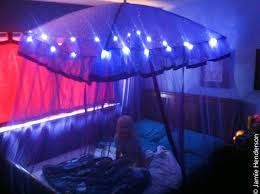 Bed Canopy With Lights Light Up Canopy Bed For Birthday For Big Present Flickr