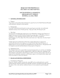 Sample Security Guard Resume No Experience Application Letter Sample Security Guard