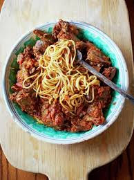 pigeon cuisine spaghetti with wood pigeon ragù oliver
