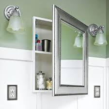 mirrored medicine cabinet with sidelights rhs english medicine