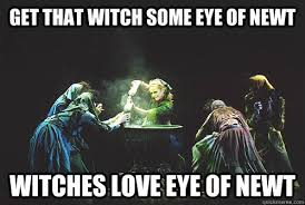 Witch Meme - get that witch some eye of newt witches love eye of newt witches