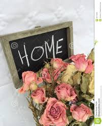 Rose Home Decor Dry Roses Home Decor Stock Photo Image 43175067
