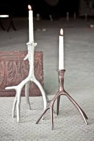64 best antler candle holders images on pinterest antlers