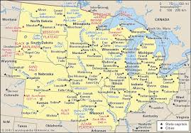 us map middle states middle west region united states britannica