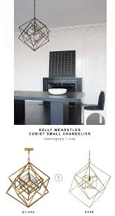 kelly wearstler cubist small chandelier copycatchic kelly wearstler cubist small chandelier