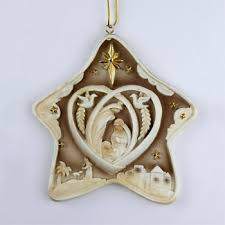 nativity ornament holy family tree ornaments