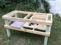 How To Build An End Table Video by Grill Table Plans Plans Diy Free Download Diy End Table Redo
