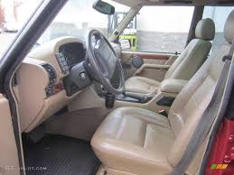 Discovery Interior Bahama Beige Interior 1998 Land Rover Discovery Le Photo 74067425