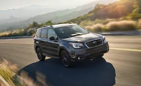 black subaru 2018 subaru forester adds black edition because everyone else has