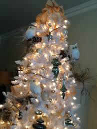 white christmas tree ideas colours
