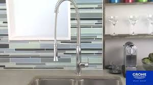 Types Of Faucets Kitchen Grohe 32951000 K7 Semi Pro Kitchen Faucet Youtube