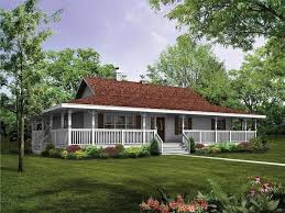 architectures small farmhouse with wrap around porch story