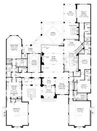 contemporary style house plan 5 beds 5 50 baths 6136 sq ft plan