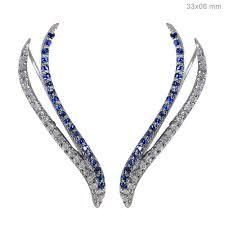 diamond ear cuff diamond ear cuffs diamond jewelry abhaas jewels