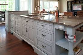 sink tremendous kitchen island with sink dishwasher and seating