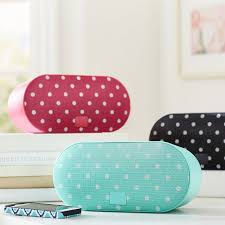 Bluetooth Speakers For Bathroom Dottie Bluetooth Speakers Pbteen