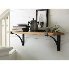 decorative wall shelf in chocolate threshold decorative wall