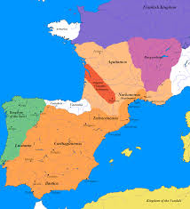 Toledo Map A War Of Words Primacy Of The Visigothic Bishopric Of Toledo