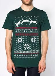 sweater t shirt mens unisex cats jumping